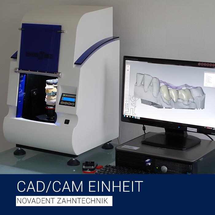 CAD / CAM Einheit - Novadent Zahntechnik Bad Homburg